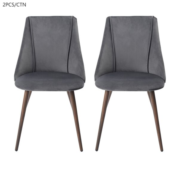Bassler Upholstered Dining Chair (Set Of 2) By Wrought Studio