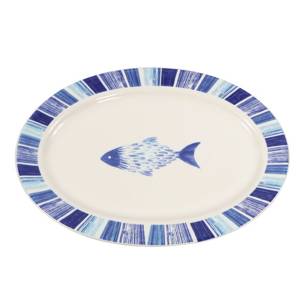 Phuong Fish Serving Platter by Highland Dunes