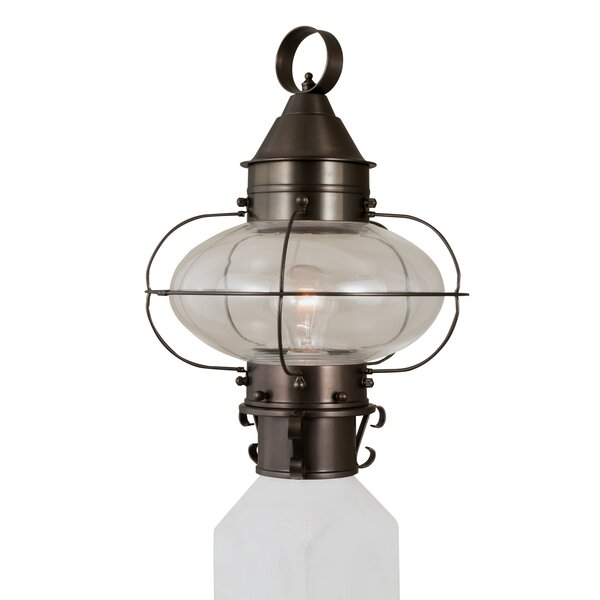 Audun 1-Light Lantern Head by Longshore Tides