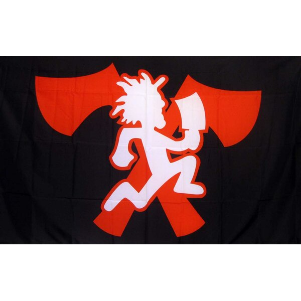 Juggalo Icp Traditional Flag by NeoPlex