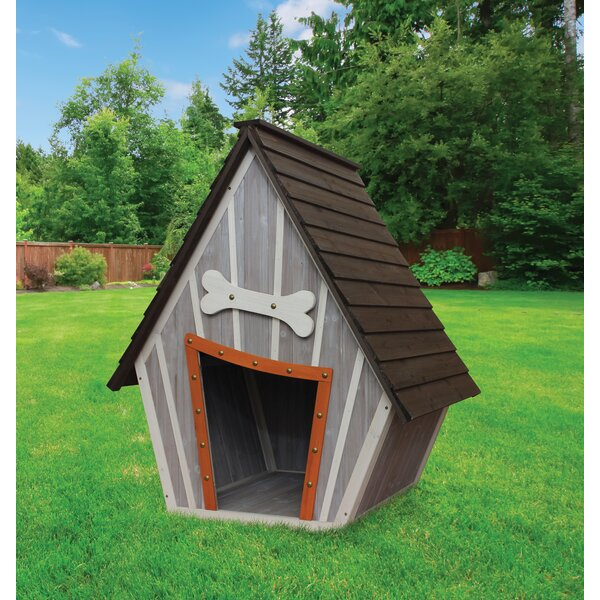 Houses and Paws Whimsical Dog House by Innovation Pet