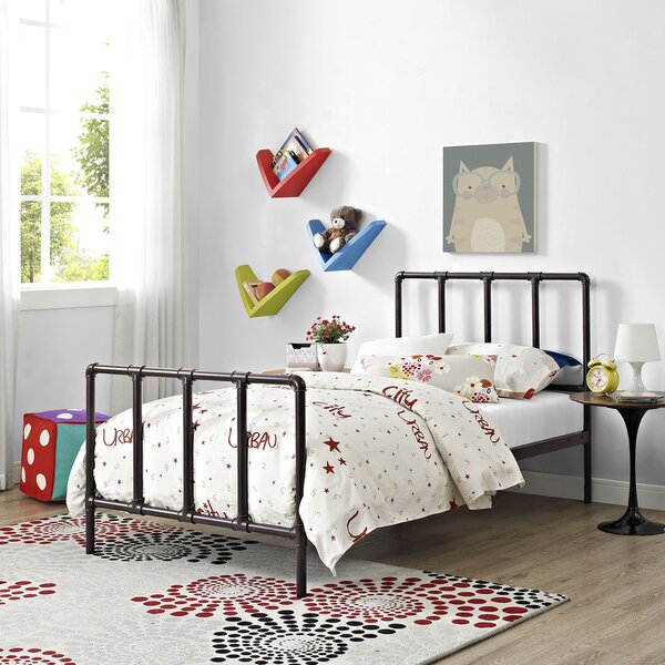 Esther Twin Slat Bed by Williston Forge