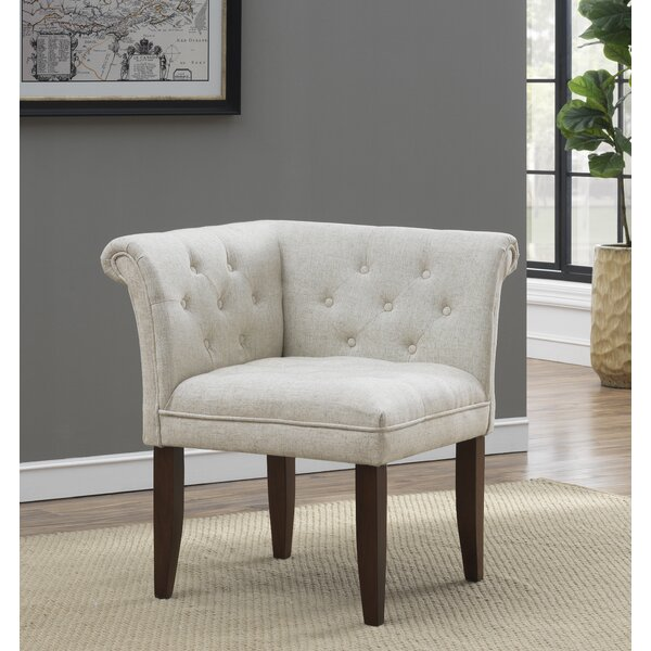 Laforge Barrel Chair by Charlton Home