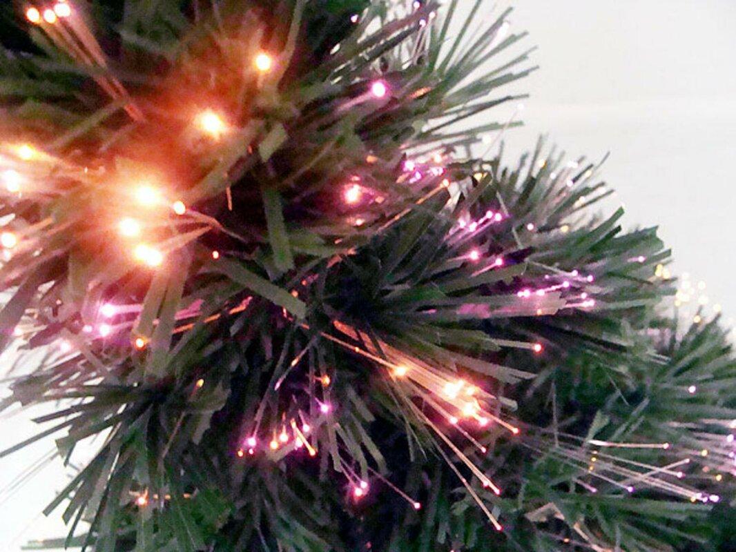 4u0027 Color Changing Fiber Optic Tree