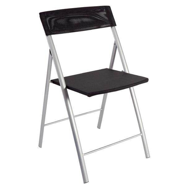 Mesh Folding chair (Set of 2) by Alba