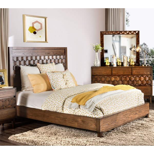 Keefe Standard Bed by Bloomsbury Market