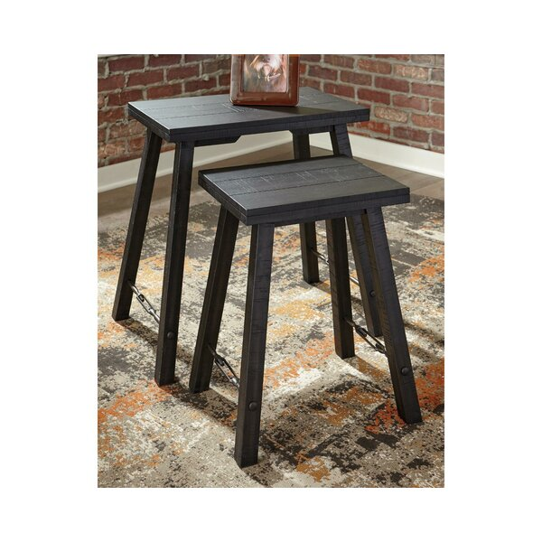 Boulanger 2 Piece Nesting Tables by Millwood Pines Millwood Pines