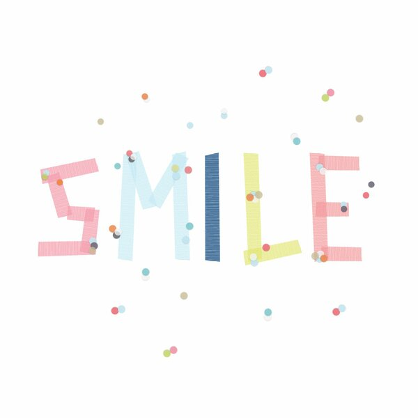 Smile Wall Art by Trendy Peas