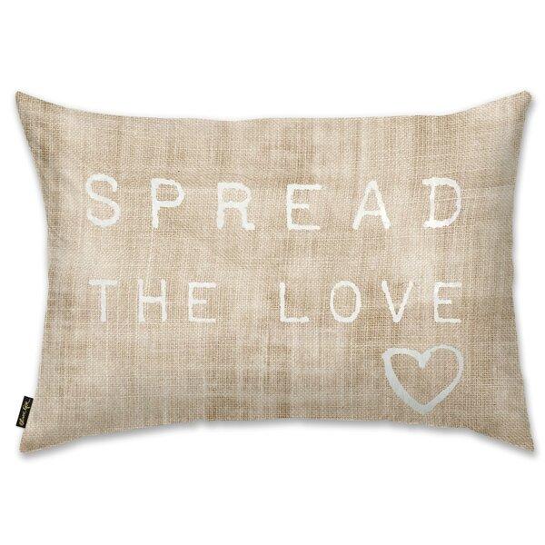 Chiu Spread the Love Lumbar Pillow by Brayden Studio