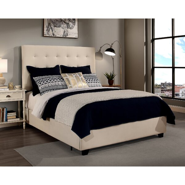 Strandquist Firman Upholstered Bed by Alcott Hill