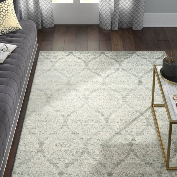 Augustus Gray/Silver Area Rug by Willa Arlo Interiors