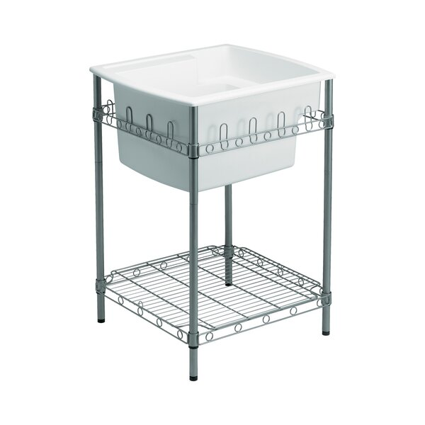 Latitude 25 x 22 Free Standing Laundry Sink by Sterling by Kohler