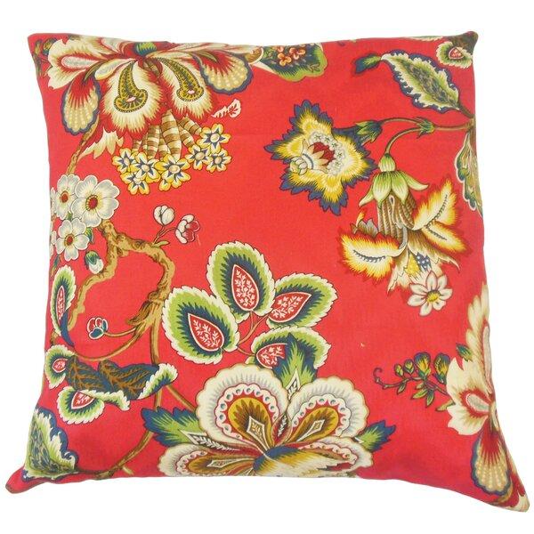 Dannemora Floral Floor Pillow by Bayou Breeze