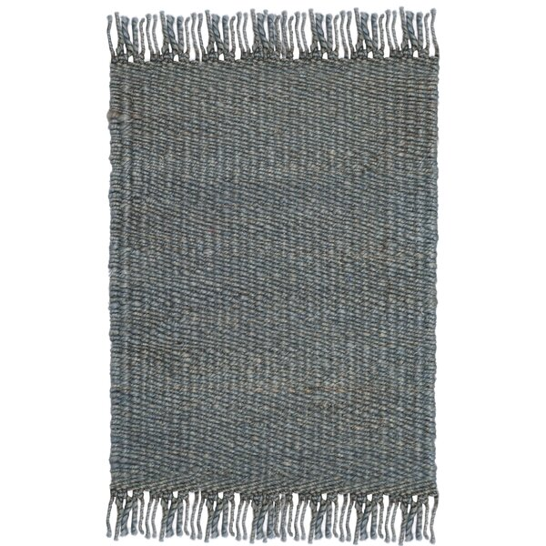 Lookout Fiber Hand-Woven Blue Area Rug by Laurel Foundry Modern Farmhouse