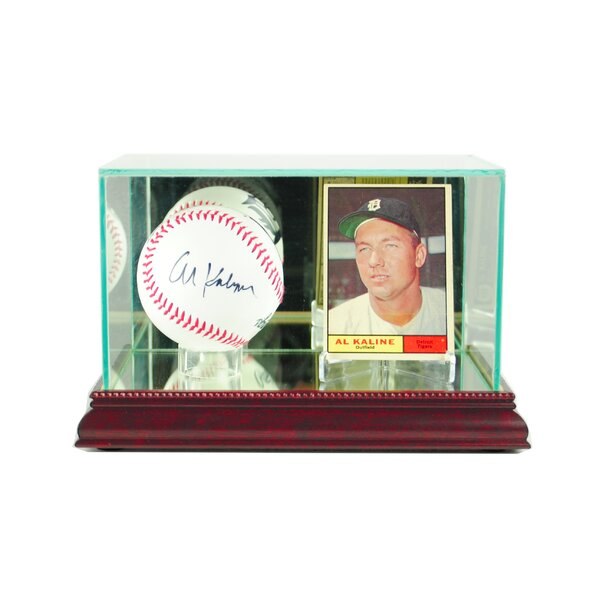 Card and Baseball Display Case by Perfect Cases and Frames