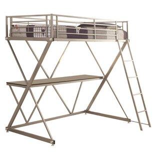 Continuum Workstation Loft Bed by Harriet Bee