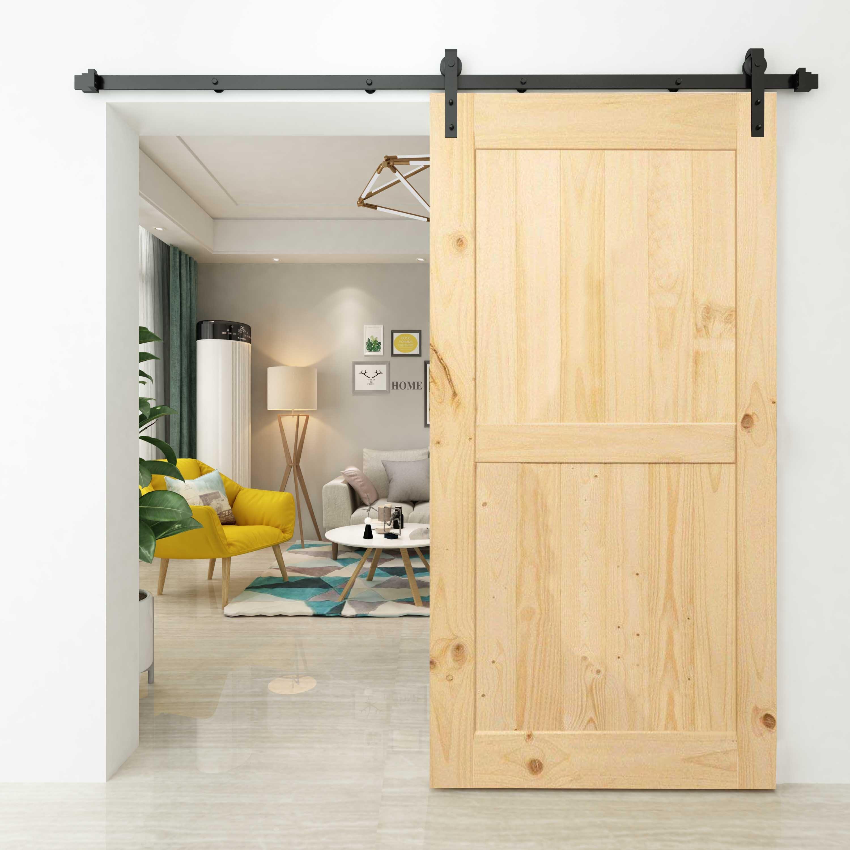 Sliding Barn Door Handle Hardware Kit Home Coffee Bar Handle 10/'/'//12/'/' From US