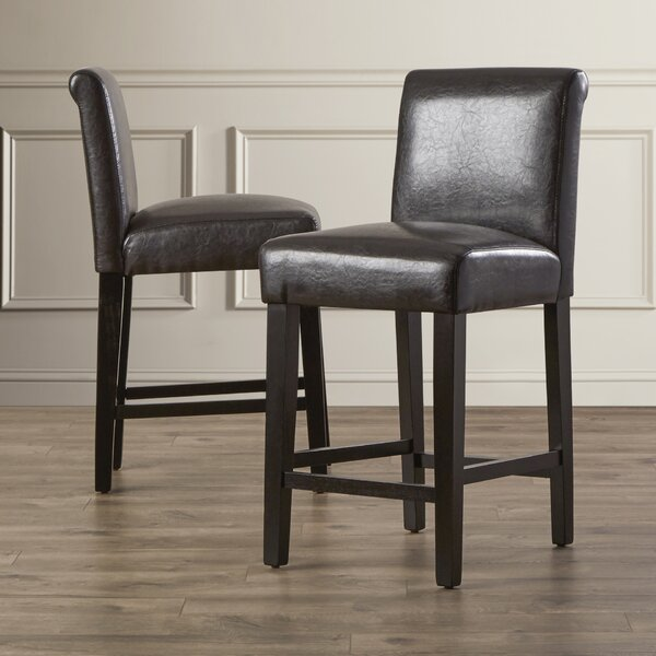 Genesee 24 Bar Stool (Set of 2) by Three Posts