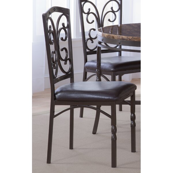 Vaughan Side Upholstered Dining Chair (Set of 4) by Fleur De Lis Living