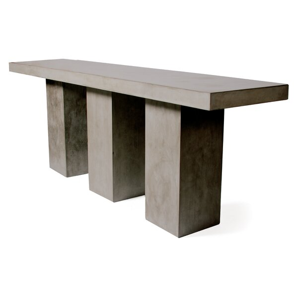 Super Kos Concrete Bar Table by Seasonal Living