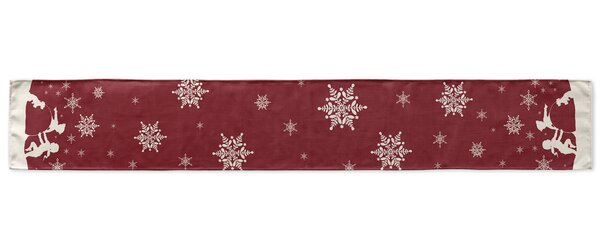 Make a Snowman Table Runner by KAVKA DESIGNS