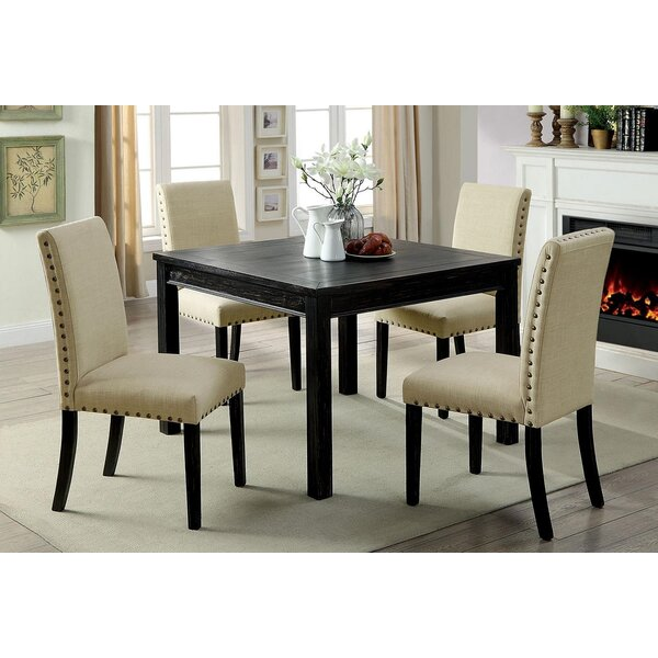 Canaday 5 Piece Counter Height Dining Set by Red Barrel Studio Red Barrel Studio