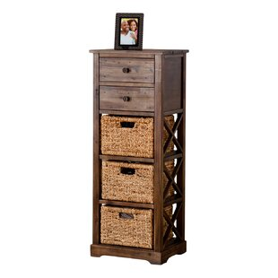 Stimson 2 Drawer Storage Chest 3 Basket Storage Tower  sc 1 st  Wayfair : wicker basket storage tower  - Aquiesqueretaro.Com