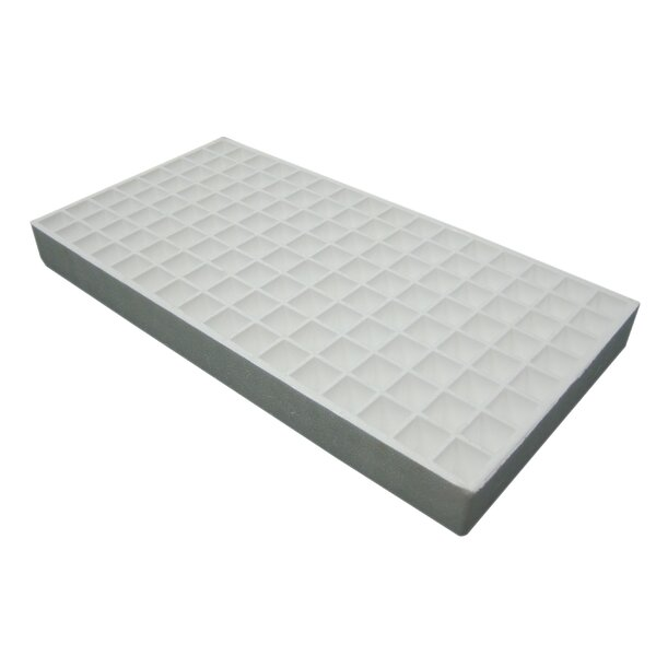 2 Piece Hydroponics Seed Tray Set by Riverstone Industries