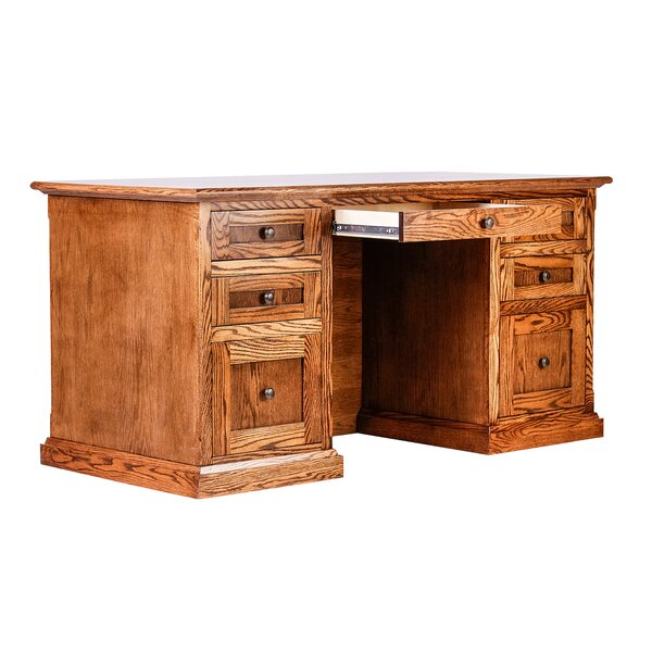 Torin 72 W Double Pedestal Executive Desk by Millwood Pines