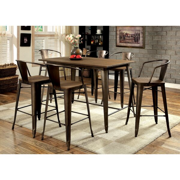 Reedley 5 Piece Counter Height Pub Set by Trent Austin Design