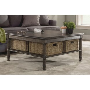 Coffee Table With Baskets Wayfair