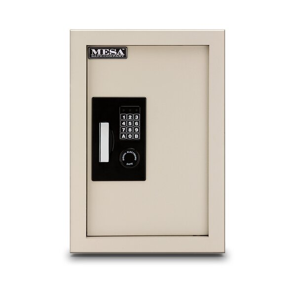 Electronic Lock Wall Safe by Mesa Safe Co.