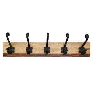 Cast Iron Hook Rack