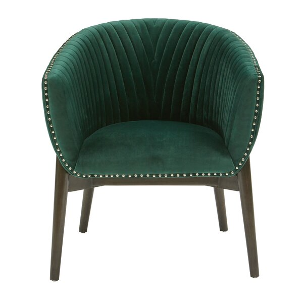 Pettaway Barrel Chair by Bungalow Rose