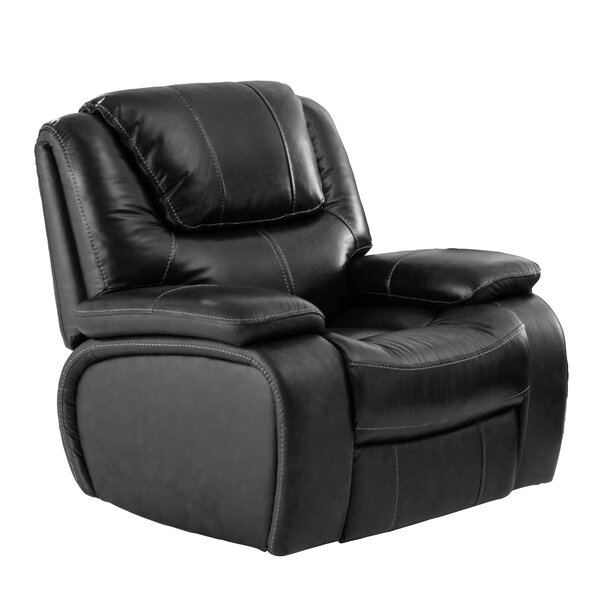 Hille Leather Manual Recliner NPDK1042