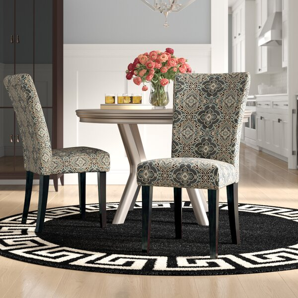 Sture Damask Print Parson Chair (Set of 2) by Willa Arlo Interiors