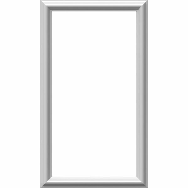 Ashford 28H x 16W x 1/2D Molded Classic Wainscot Wall Panel by Ekena Millwork