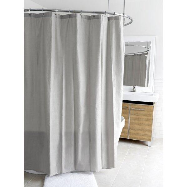 Ella Microfiber Shower Curtain by Splash Home