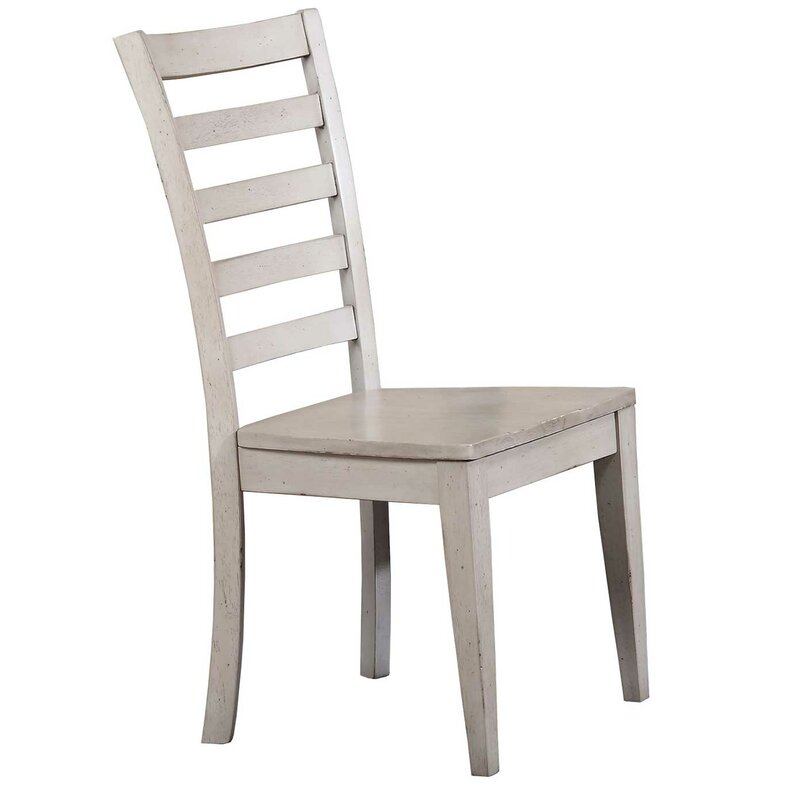 Charmant Rutledge Ladderback Solid Wood Dining Chair