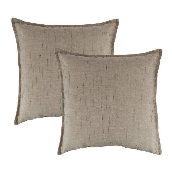 Frequency Outdoor Sunbrella Throw Pillow (Set of 2) by Austin Horn Classics