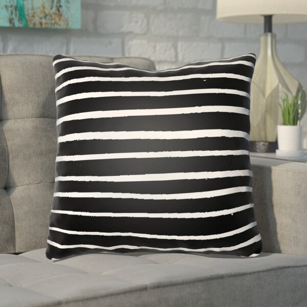 Smetana Outdoor Throw Pillow by Mercury Row