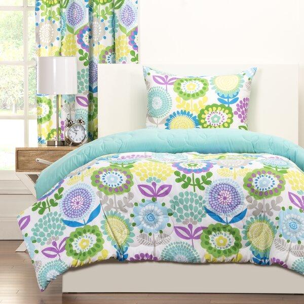Crayola Pointillist Pansy Comforter Set by Crayola LLC