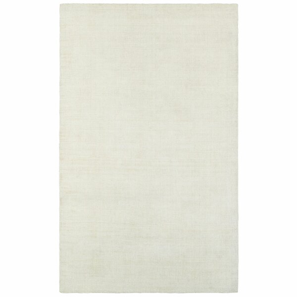 Grimes Plush Hand Tufted Ivory Area Rug by Alcott Hill