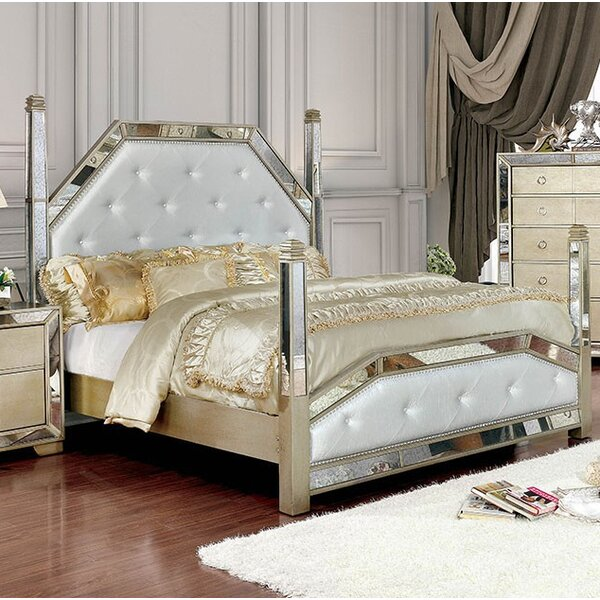 Susann Upholstered Standard Bed by House of Hampton House of Hampton