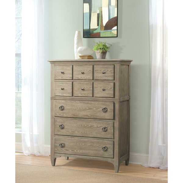 Cardiff Saya 5 Drawer Chest by Rosecliff Heights