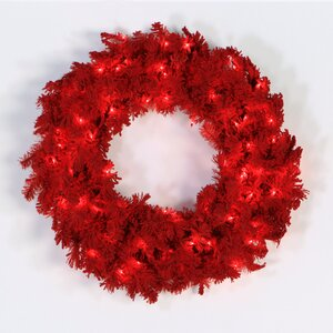 Flocked Wreath