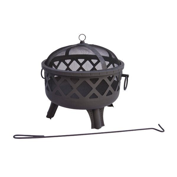 Garden Lights Sarasota Wood Burning Fire Pit by Landmann