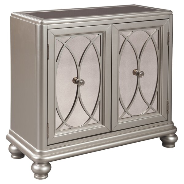 Castor 2 Door Accent Cabinet by House of Hampton