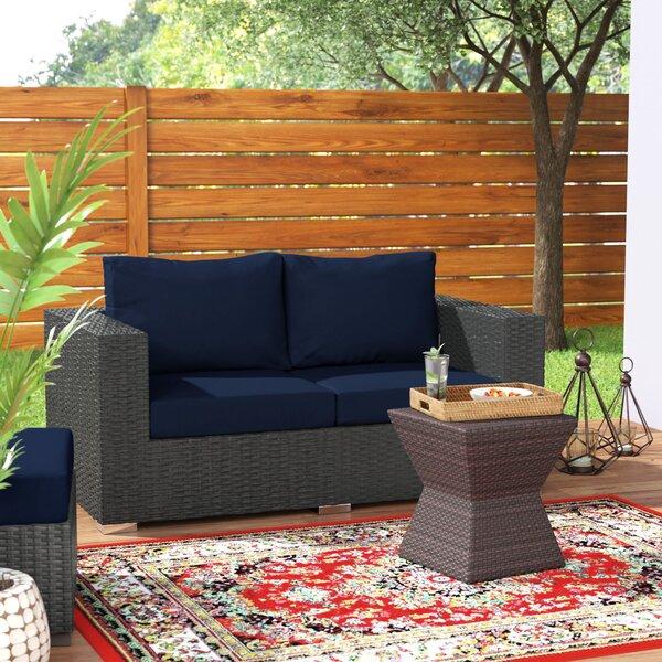 Tripp Loveseat with Sunbrella Cushions by Brayden Studio