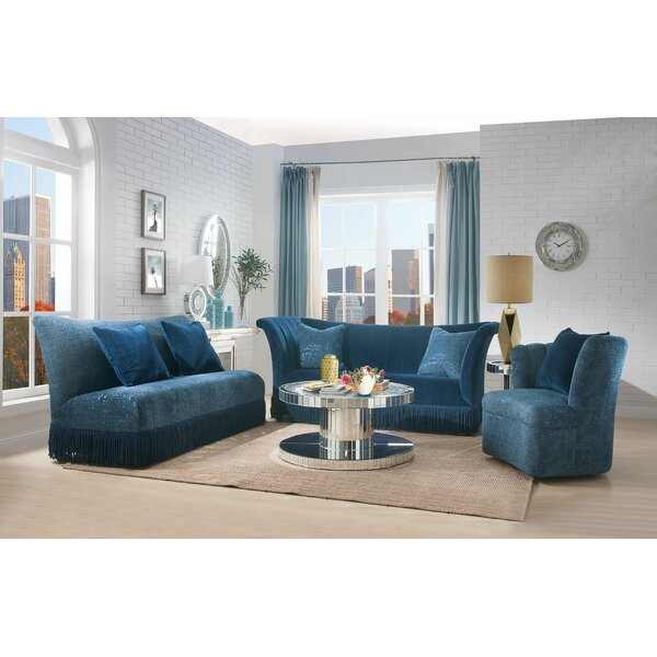 3 Piece Chesterfield Configurable Living Room Set by Major-Q